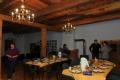 Vakariņu galds uzklāts. Foto: Vilnis Rasiņš