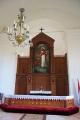 Mazirbes baznīcas altāris. Foto: Vilnis Rasiņš